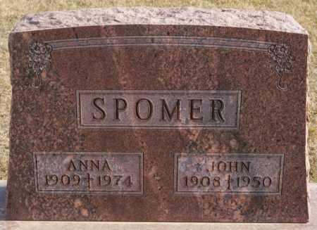 SPOMER, JOHN - Turner County, South Dakota | JOHN SPOMER - South Dakota Gravestone Photos