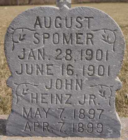 SPOMER, AUGUST - Turner County, South Dakota   AUGUST SPOMER - South Dakota Gravestone Photos