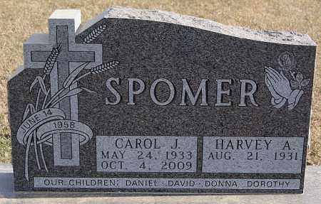SPOMER, CAROL J - Turner County, South Dakota | CAROL J SPOMER - South Dakota Gravestone Photos