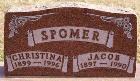 SPOMER, CHRISTINA - Turner County, South Dakota | CHRISTINA SPOMER - South Dakota Gravestone Photos