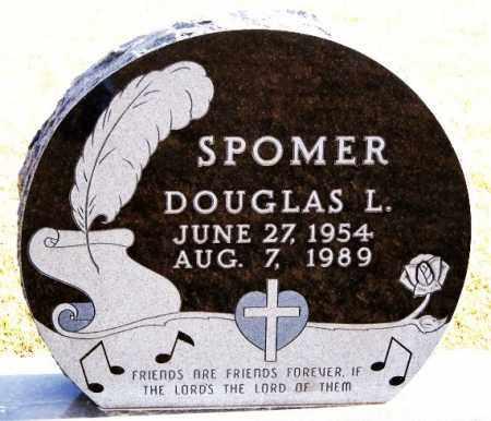 SPOMER, DOUGLAS L - Turner County, South Dakota | DOUGLAS L SPOMER - South Dakota Gravestone Photos