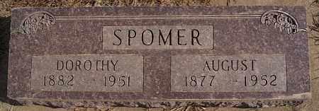 SPOMER, AUGUST - Turner County, South Dakota | AUGUST SPOMER - South Dakota Gravestone Photos