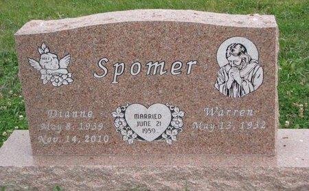 MARSHALL SPOMER, DIANNE CLAIR - Turner County, South Dakota | DIANNE CLAIR MARSHALL SPOMER - South Dakota Gravestone Photos