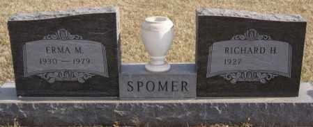 SPOMER, ERMA M - Turner County, South Dakota   ERMA M SPOMER - South Dakota Gravestone Photos
