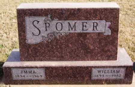 SPOMER, EMMA - Turner County, South Dakota | EMMA SPOMER - South Dakota Gravestone Photos