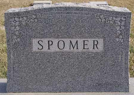SPOMER, FAMILY MARKER - Turner County, South Dakota | FAMILY MARKER SPOMER - South Dakota Gravestone Photos