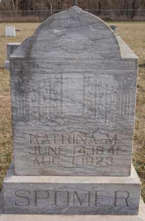 SPOMER, KATRINA M - Turner County, South Dakota | KATRINA M SPOMER - South Dakota Gravestone Photos