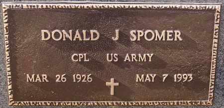 SPOMER, DONALD J (MILITARY) - Turner County, South Dakota   DONALD J (MILITARY) SPOMER - South Dakota Gravestone Photos