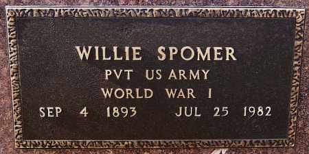 SPOMER, WILLIE (WWI) - Turner County, South Dakota   WILLIE (WWI) SPOMER - South Dakota Gravestone Photos