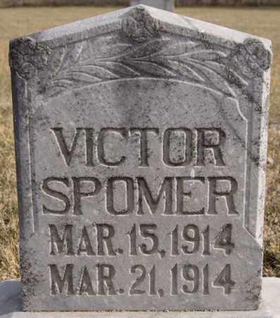 SPOMER, VICTOR - Turner County, South Dakota   VICTOR SPOMER - South Dakota Gravestone Photos