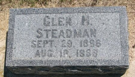 STEADMAN, GLEN H. - Turner County, South Dakota | GLEN H. STEADMAN - South Dakota Gravestone Photos