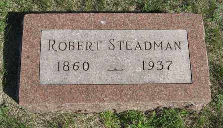 STEADMAN, ROBERT - Turner County, South Dakota | ROBERT STEADMAN - South Dakota Gravestone Photos