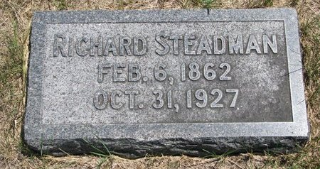 STEADMAN, RICHARD - Turner County, South Dakota | RICHARD STEADMAN - South Dakota Gravestone Photos