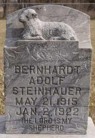 STEINHAUER, BERNHARDT ADOLF - Turner County, South Dakota | BERNHARDT ADOLF STEINHAUER - South Dakota Gravestone Photos