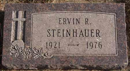 STEINHAUER, ERVIN R - Turner County, South Dakota | ERVIN R STEINHAUER - South Dakota Gravestone Photos