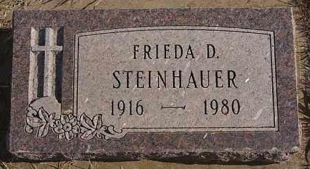 STEINHAUER, FRIEDA D - Turner County, South Dakota | FRIEDA D STEINHAUER - South Dakota Gravestone Photos