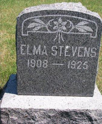 STEVENS, ELMA - Turner County, South Dakota | ELMA STEVENS - South Dakota Gravestone Photos