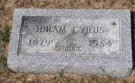 STEVENS, HIRAM CYRUS - Turner County, South Dakota | HIRAM CYRUS STEVENS - South Dakota Gravestone Photos