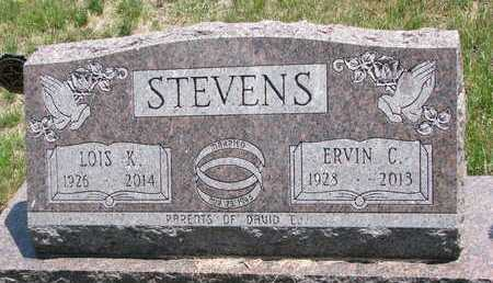 STEVENS, ERVIN C - Turner County, South Dakota | ERVIN C STEVENS - South Dakota Gravestone Photos