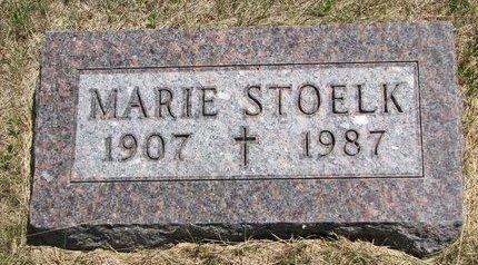 STOELK, MARIE - Turner County, South Dakota | MARIE STOELK - South Dakota Gravestone Photos