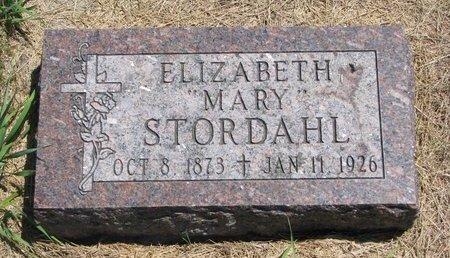 """JACOBSEN STORDAHL, ELIZABETH """"MARY"""" - Turner County, South Dakota   ELIZABETH """"MARY"""" JACOBSEN STORDAHL - South Dakota Gravestone Photos"""