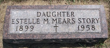 MEARS STORY, ESTELLE M. - Turner County, South Dakota | ESTELLE M. MEARS STORY - South Dakota Gravestone Photos