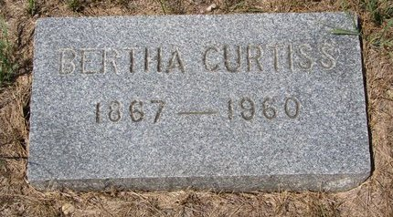 STOVER, BERTHA CURTISS - Turner County, South Dakota | BERTHA CURTISS STOVER - South Dakota Gravestone Photos