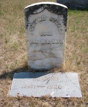 STOVER, EDMUND - Turner County, South Dakota | EDMUND STOVER - South Dakota Gravestone Photos