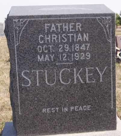 STUCKEY, CHRISTIAN - Turner County, South Dakota | CHRISTIAN STUCKEY - South Dakota Gravestone Photos