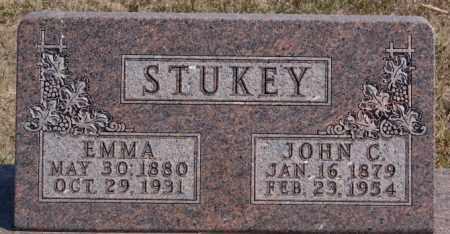 STUKEY, EMMA - Turner County, South Dakota | EMMA STUKEY - South Dakota Gravestone Photos