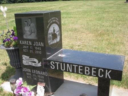 STUNTEBECK, JOHN LEONARD - Turner County, South Dakota | JOHN LEONARD STUNTEBECK - South Dakota Gravestone Photos