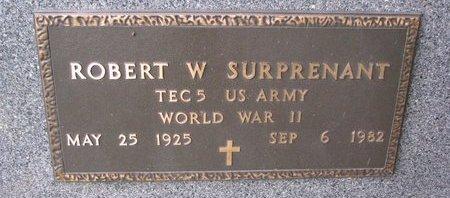 SURPRENANT, ROBERT W. (MILITARY) - Turner County, South Dakota | ROBERT W. (MILITARY) SURPRENANT - South Dakota Gravestone Photos