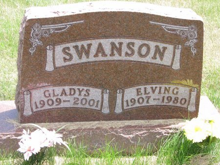 SWANSON, ELVING - Turner County, South Dakota   ELVING SWANSON - South Dakota Gravestone Photos