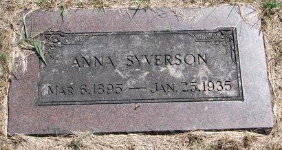 SYVERSON, ANNA SOPHIA - Turner County, South Dakota | ANNA SOPHIA SYVERSON - South Dakota Gravestone Photos
