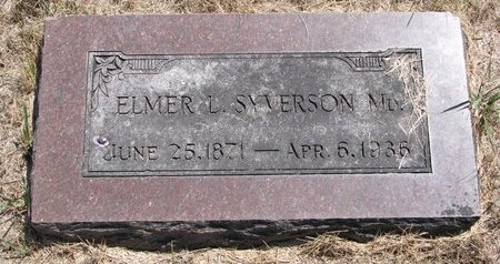 SYVERSON, ELMER L. (M.D.) - Turner County, South Dakota | ELMER L. (M.D.) SYVERSON - South Dakota Gravestone Photos