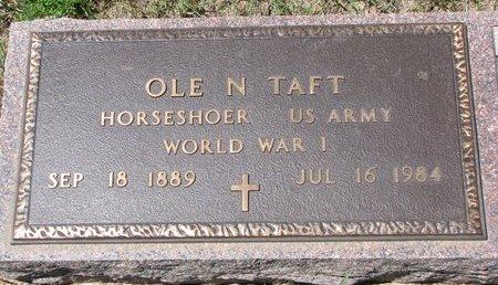 TAFT, OLE NILSEN - Turner County, South Dakota | OLE NILSEN TAFT - South Dakota Gravestone Photos