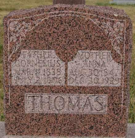 THOMAS, ANNA - Turner County, South Dakota | ANNA THOMAS - South Dakota Gravestone Photos