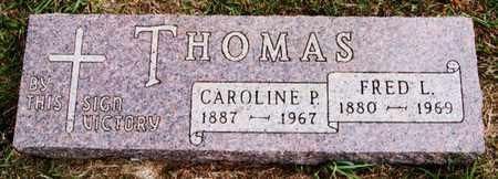 THOMAS, CAROLINE P - Turner County, South Dakota | CAROLINE P THOMAS - South Dakota Gravestone Photos