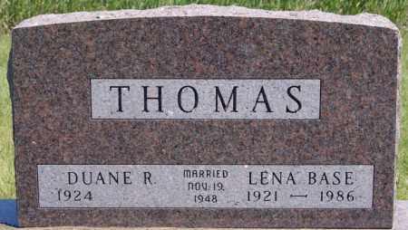 THOMAS, LENA - Turner County, South Dakota | LENA THOMAS - South Dakota Gravestone Photos