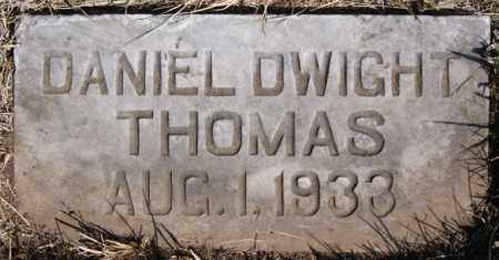THOMAS, DANIEL DWIGHT - Turner County, South Dakota | DANIEL DWIGHT THOMAS - South Dakota Gravestone Photos