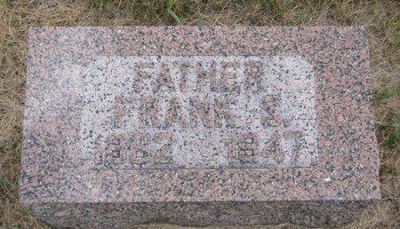 THOMAS, FRANK S. - Turner County, South Dakota | FRANK S. THOMAS - South Dakota Gravestone Photos