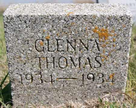 THOMAS, GLENNA - Turner County, South Dakota | GLENNA THOMAS - South Dakota Gravestone Photos