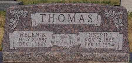THOMAS, JOSEPH L - Turner County, South Dakota | JOSEPH L THOMAS - South Dakota Gravestone Photos