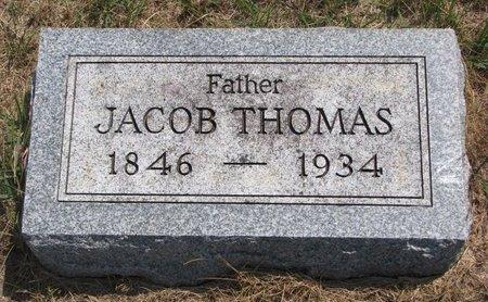 THOMAS, JACOB - Turner County, South Dakota | JACOB THOMAS - South Dakota Gravestone Photos