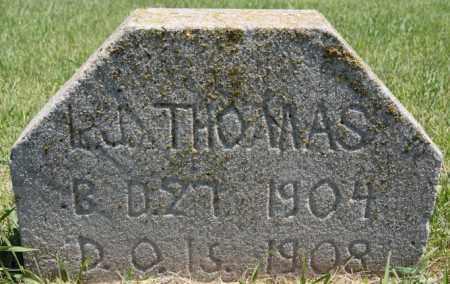 THOMAS, L J - Turner County, South Dakota | L J THOMAS - South Dakota Gravestone Photos