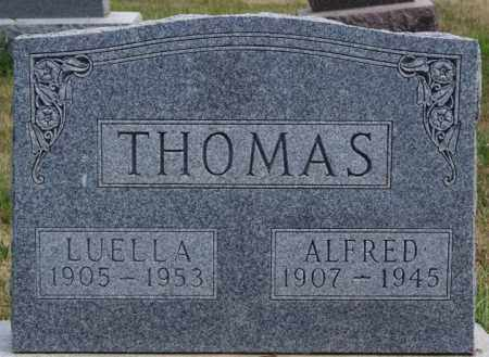 THOMAS, ALFRED - Turner County, South Dakota | ALFRED THOMAS - South Dakota Gravestone Photos