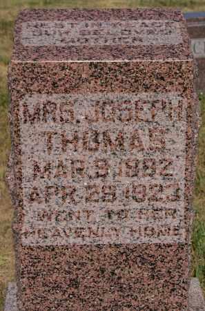 THOMAS, MRS. JOSEPH - Turner County, South Dakota | MRS. JOSEPH THOMAS - South Dakota Gravestone Photos