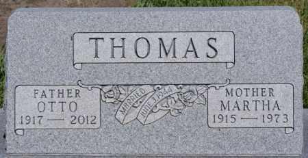 THOMAS, MARTHA - Turner County, South Dakota | MARTHA THOMAS - South Dakota Gravestone Photos