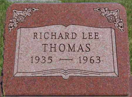 THOMAS, RICHARD LEE - Turner County, South Dakota | RICHARD LEE THOMAS - South Dakota Gravestone Photos
