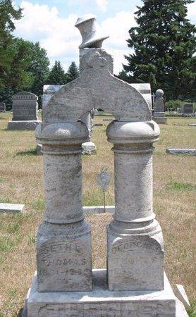 THOMAS, GEORGANA - Turner County, South Dakota   GEORGANA THOMAS - South Dakota Gravestone Photos
